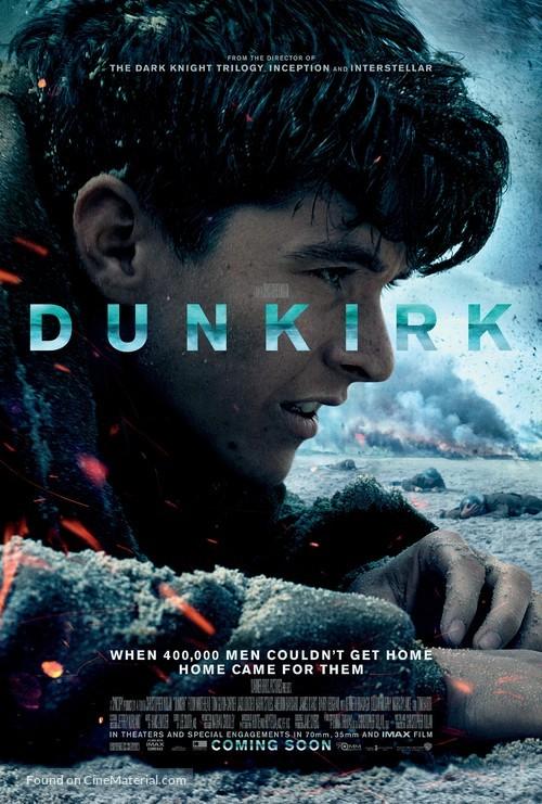 Dunkirk - British Theatrical movie poster