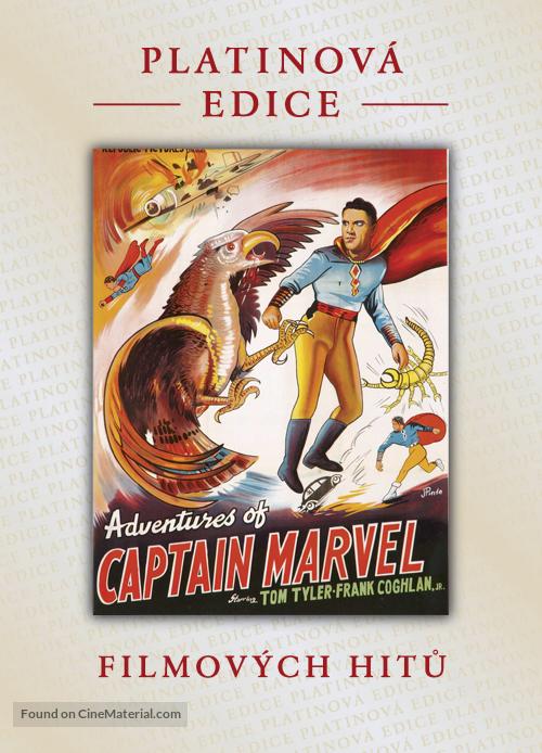Adventures of Captain Marvel - Czech DVD movie cover