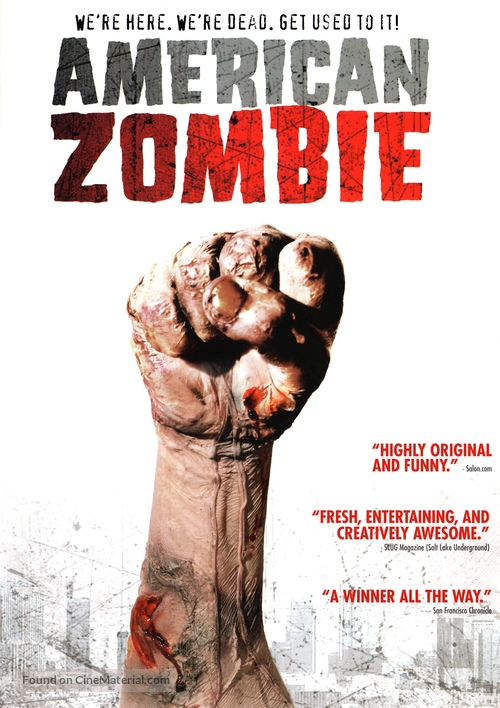 American Zombie - Movie Cover