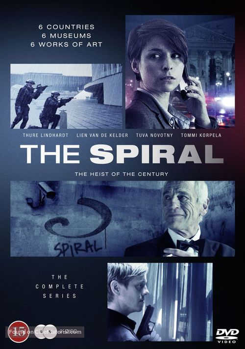 """""""The Spiral"""" - Danish Movie Cover"""