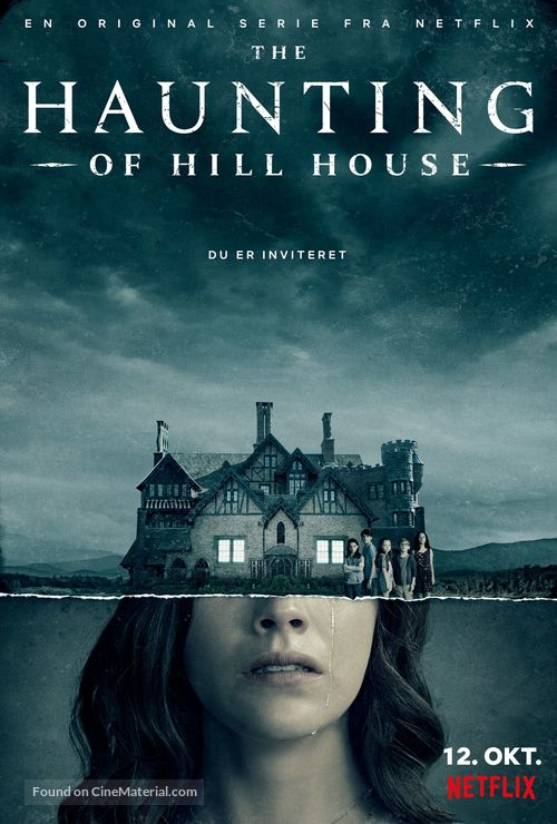 """The Haunting of Hill House"" - Danish Movie Poster"