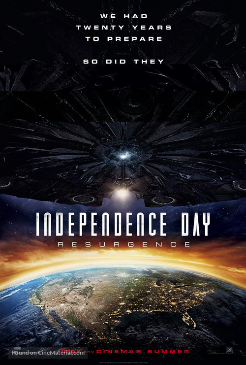 Independence Day Resurgence - Movie Poster