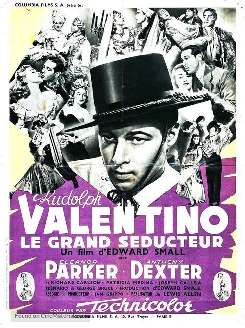 Valentino - French Movie Poster