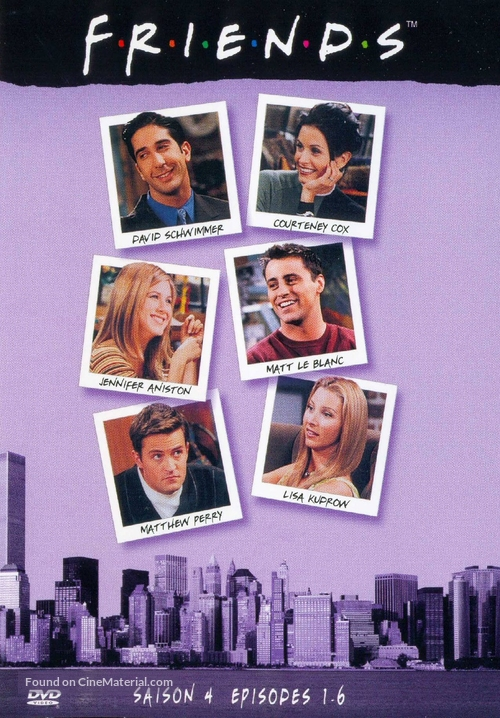 """Friends"" - French DVD movie cover"
