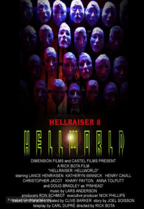 Hellraiser: Hellworld - Movie Poster
