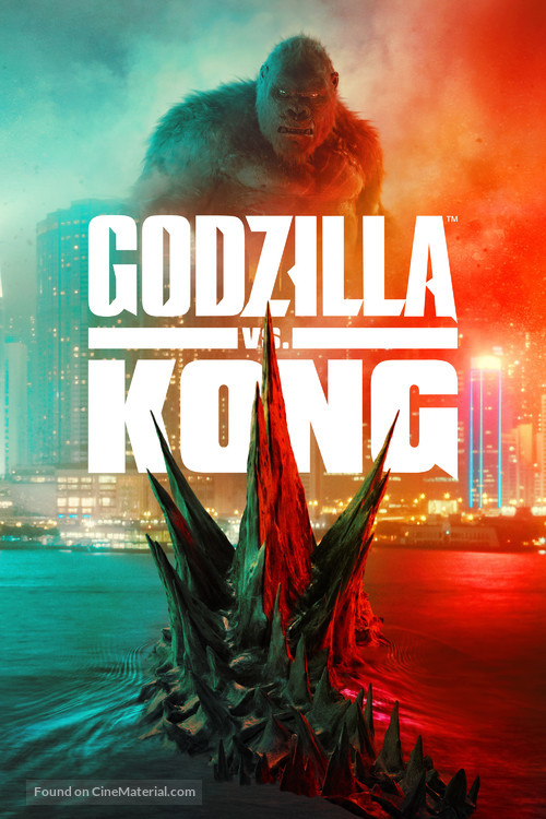 Godzilla vs. Kong - Video on demand movie cover