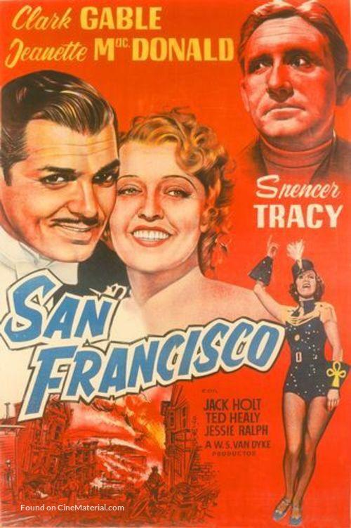 San Francisco - Movie Poster
