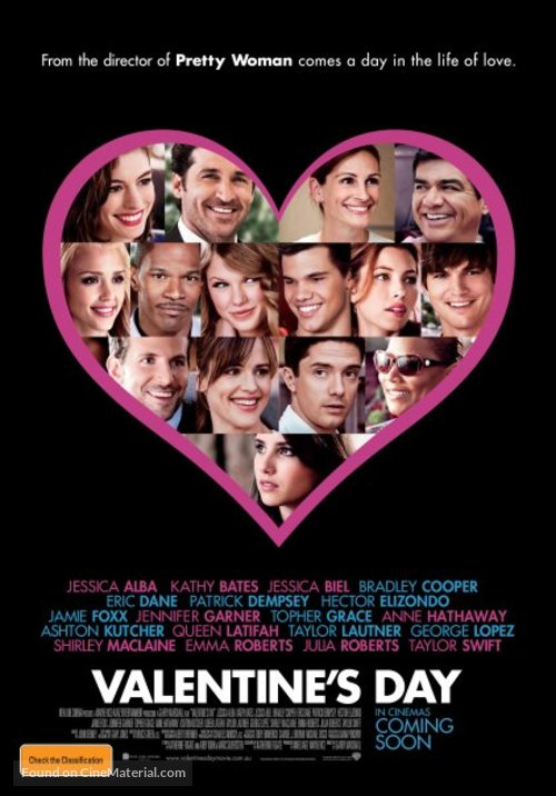 Valentine's Day - Australian Movie Poster