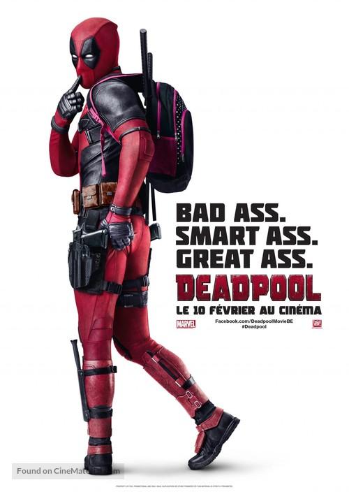 Deadpool - Belgian Movie Poster