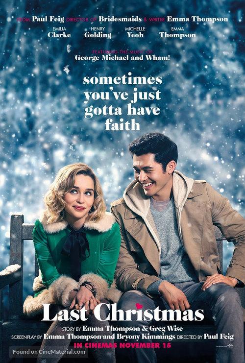 Last Christmas - British Movie Poster