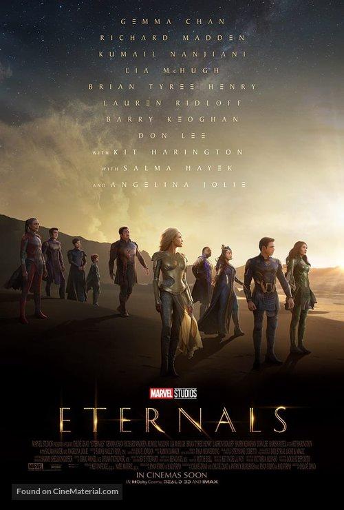 The Eternals - International Movie Poster