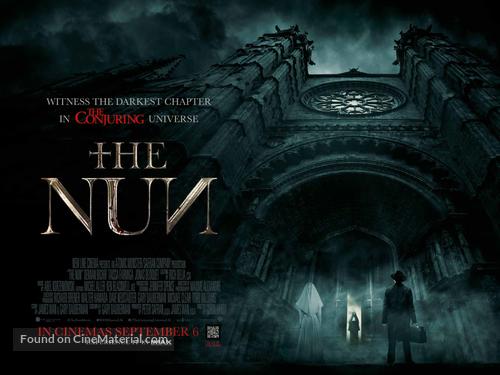 The Nun - British Movie Poster