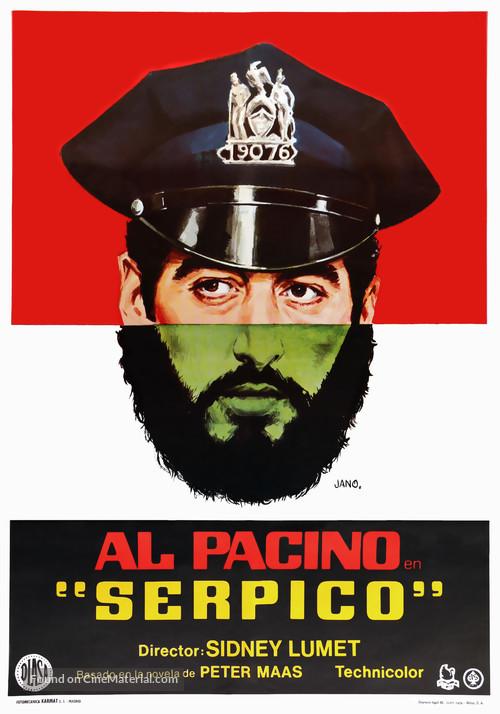 Serpico 1973 Poster