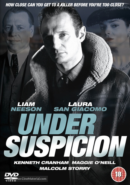 Under Suspicion - British DVD movie cover