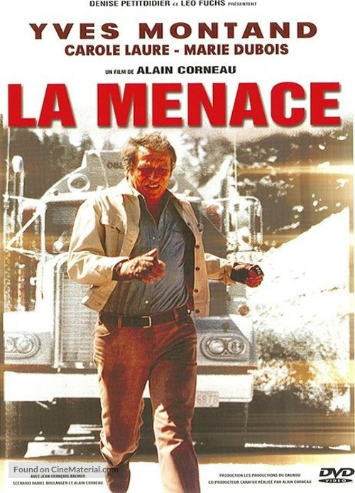 La menace - French DVD movie cover