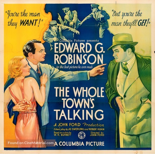 The Whole Town's Talking - Movie Poster