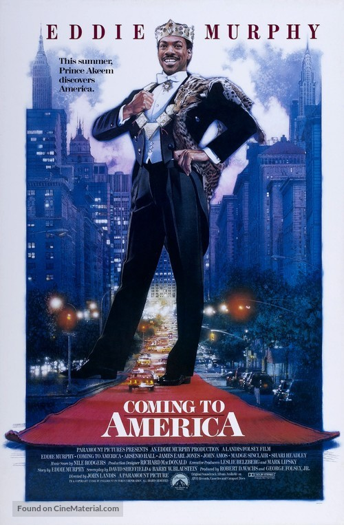 Coming To America - Movie Poster