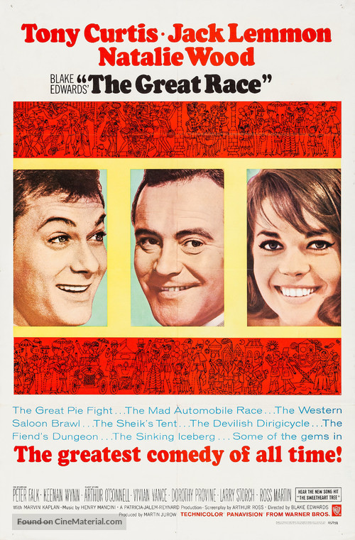 The Great Race - Movie Poster