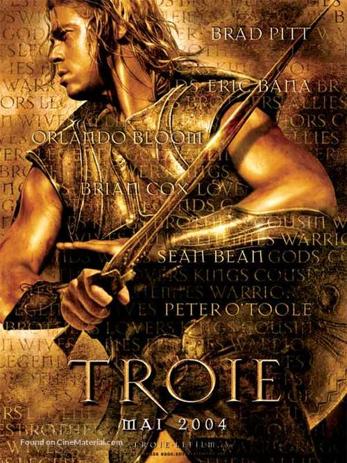 Troy - French Teaser movie poster