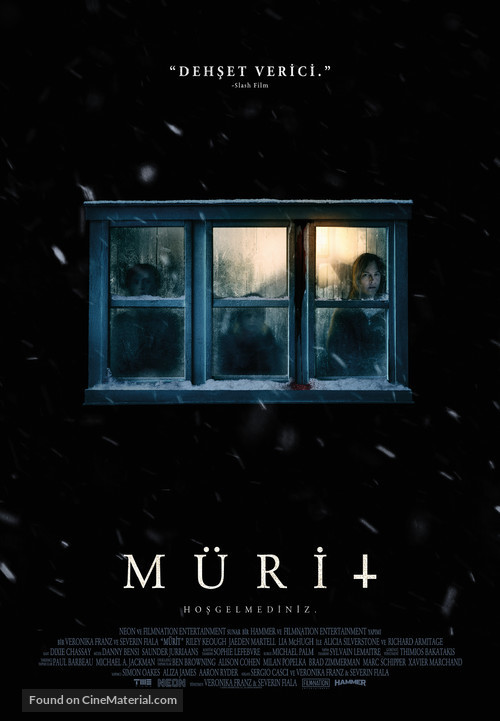 The Lodge - Turkish Movie Poster