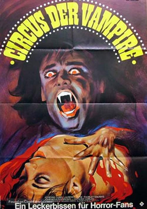 Vampire Circus - German Movie Poster