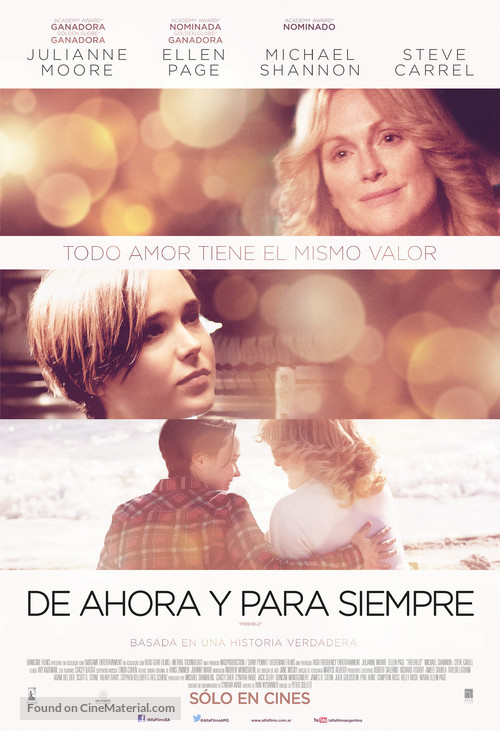 Freeheld - Argentinian Movie Poster