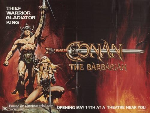 Conan The Barbarian - Advance movie poster