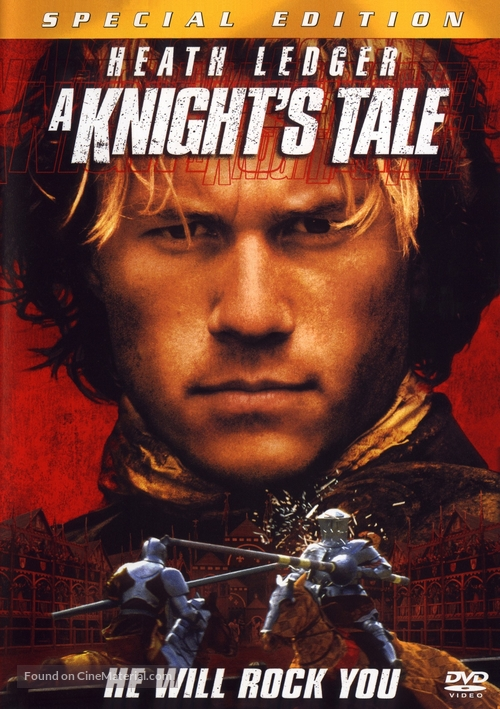 A Knight's Tale - DVD movie cover