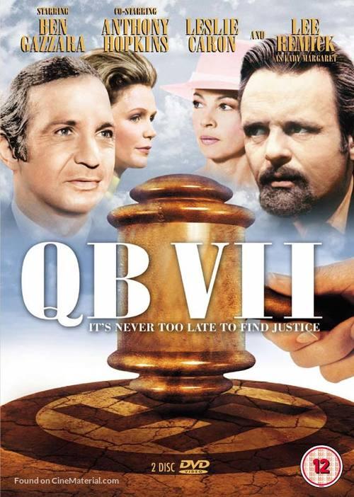 """""""QB VII"""" - British DVD movie cover"""