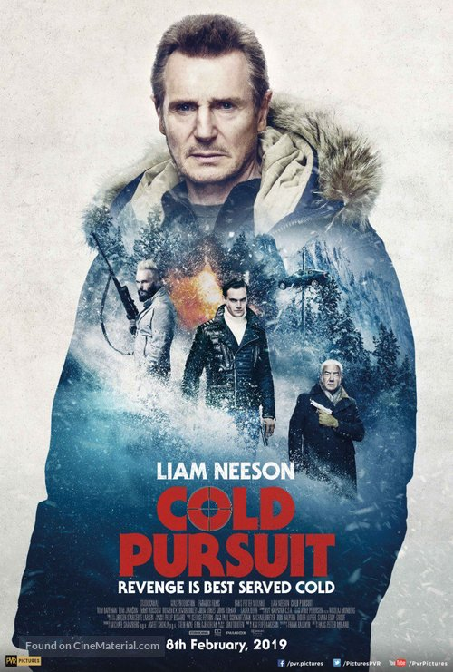 Cold Pursuit - Indian Movie Poster