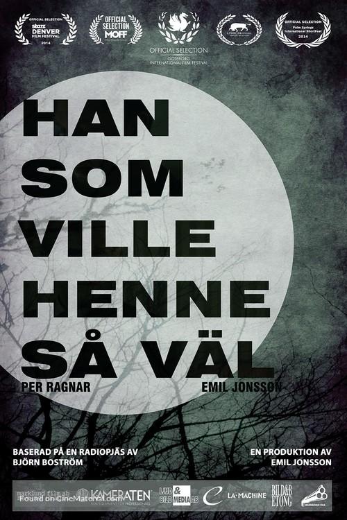 Han som ville henne så väl - Swedish Movie Poster
