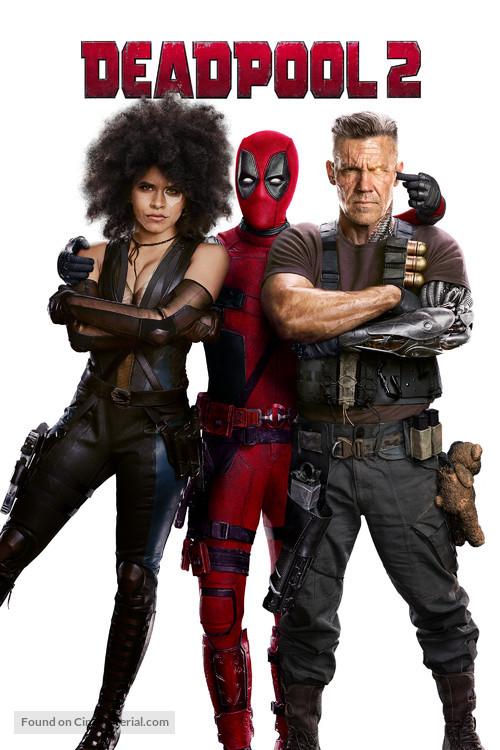 Deadpool 2 2018 British Movie Cover