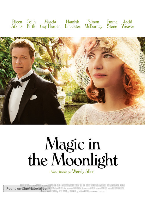 Magic in the Moonlight - French Movie Poster