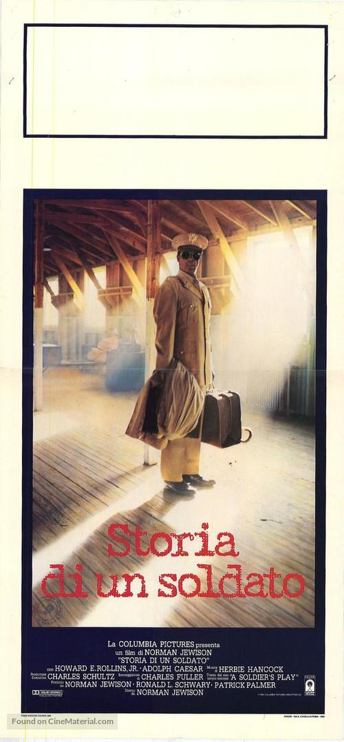 A Soldier's Story - Italian Movie Poster