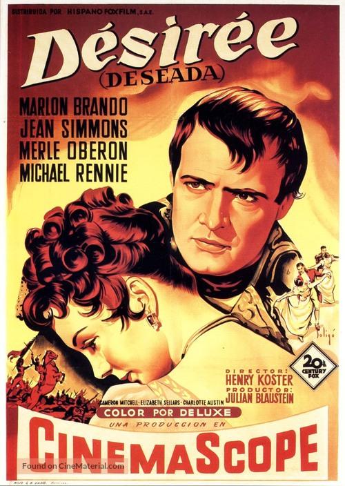 Desirée - Spanish Movie Poster
