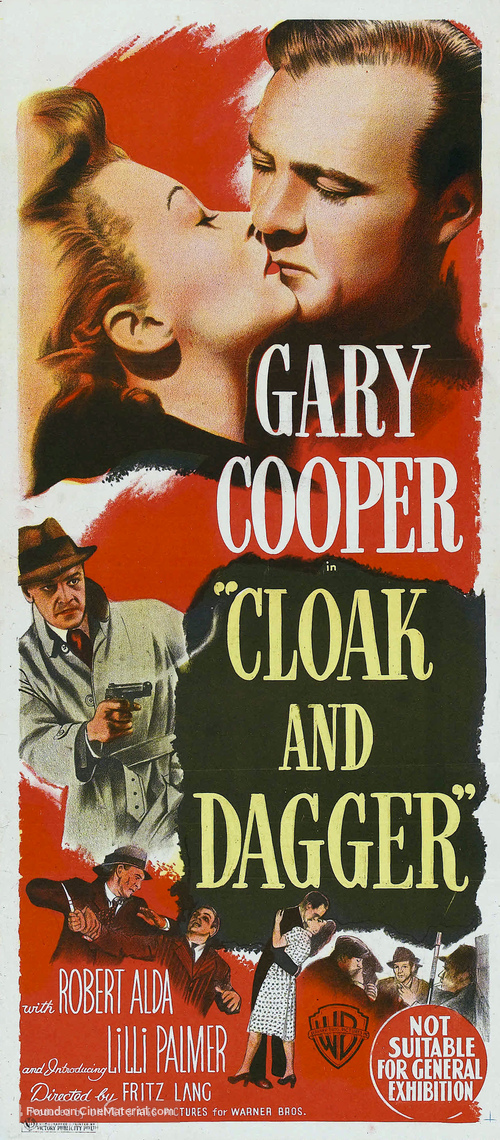 Cloak and Dagger - Australian Movie Poster