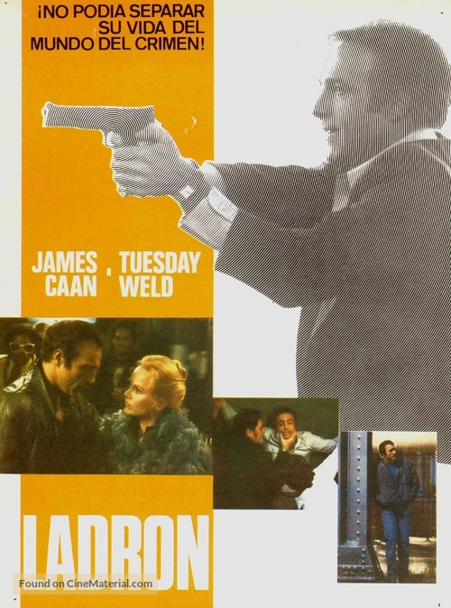 Thief - Spanish Movie Poster