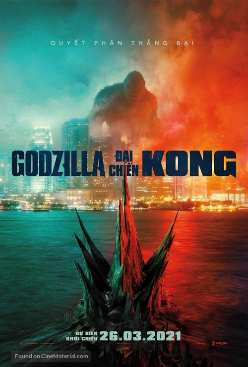 Godzilla vs. Kong - Vietnamese Movie Poster