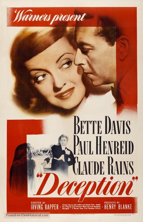 Deception - Movie Poster