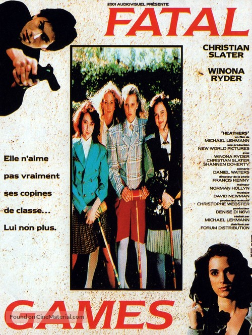 Heathers - French Movie Poster