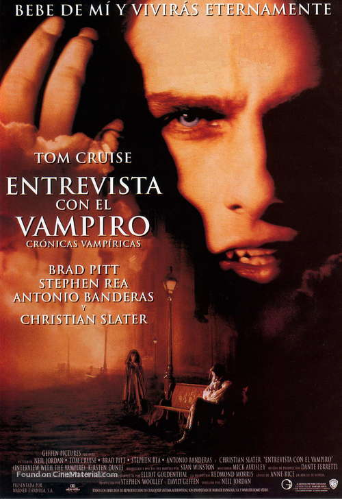 Interview With The Vampire - Spanish Movie Poster