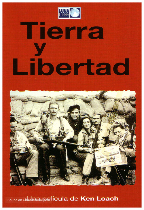 Land and Freedom - Spanish Movie Poster