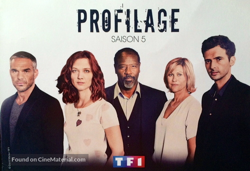 """""""Profilage"""" - French Movie Poster"""