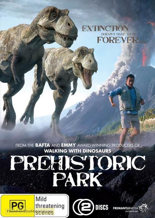"""""""Prehistoric Park"""" - Australian DVD cover"""