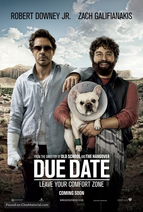 Due Date - British Movie Poster