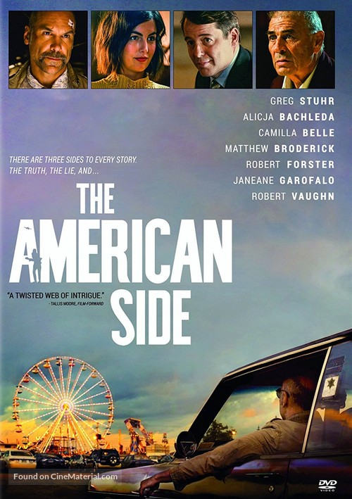 The American Side - DVD cover