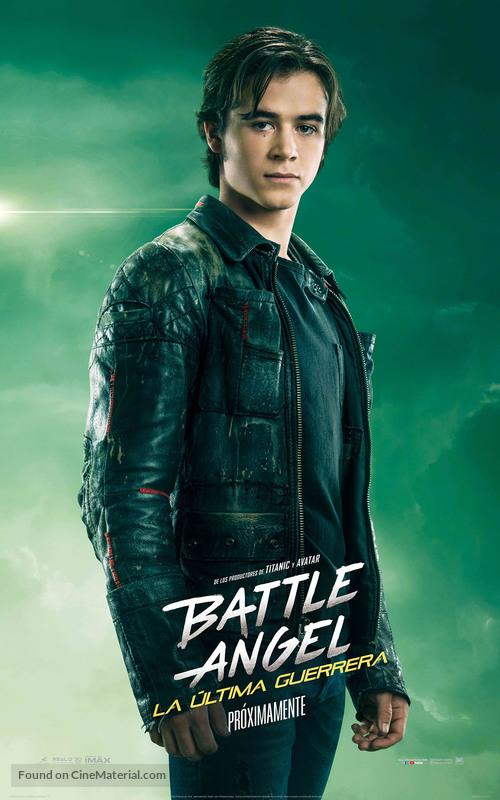 Alita: Battle Angel - Mexican Movie Poster