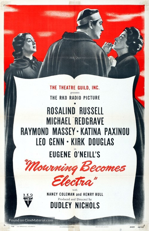 Mourning Becomes Electra - Movie Poster