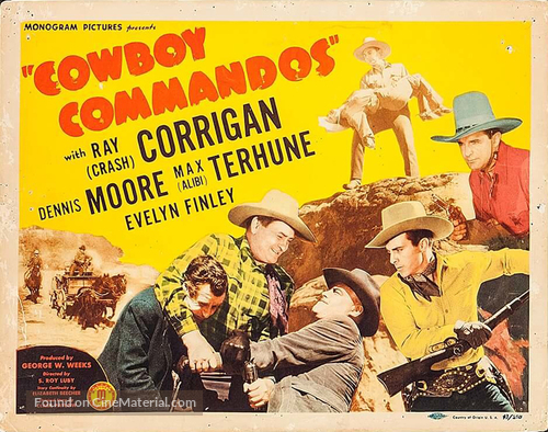 Cowboy Commandos - Movie Poster