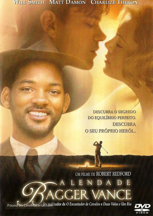 The Legend Of Bagger Vance - Portuguese Movie Cover